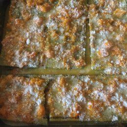 Lasagne verdi con Zucca