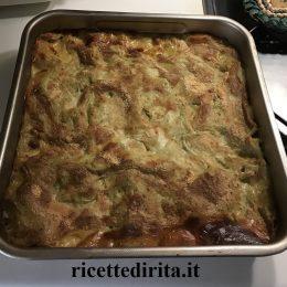 Pasta al forno con pesto