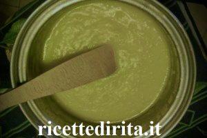 Purè con spinaci