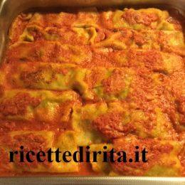 Cannelloni verdi di Rita