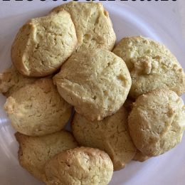 Biscotti Zenzero e Curcuma con Kefir