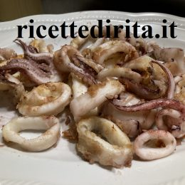 Calamari in friggitrice
