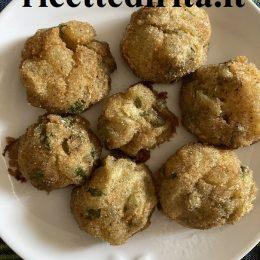 Polpette di carciofi e patate