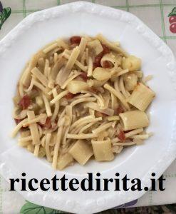 Pasta con Patate e Baccalà